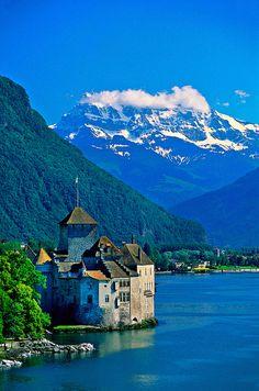 Château de Chillon - Veytaux, Switzerland