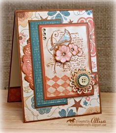 card by Allisa Chilton using CTMH Clementine paper