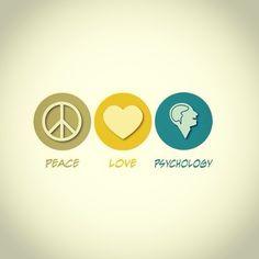 Peace, love, Psychology