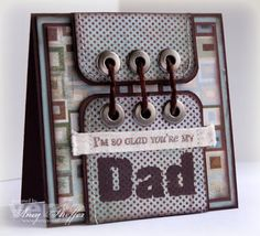 Pickled Paper Designs: Father Figure
