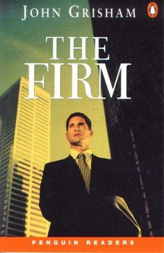 The Firm (1991) is a legal thriller by John Grisham about a young lawyer that is recruited to join a prestigious law firm only to find out that it has dark secrets. The Firm was also made into a film in 1993.