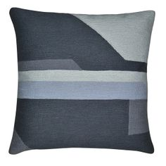 Reflection Pillow 18x18 Gray