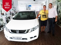 O Sr. Carlos Marciel veio acompanhado de seus familiares buscar a sua máquina. Parabéns pela compra!