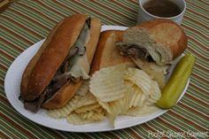 French Cuisine for the Olympics: Easy French Dip Sandwiches