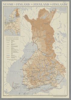 Finland, Map, Historia, Cartography, Location Map, Maps