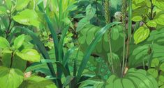 Screencap Gallery for The Secret World of Arrietty Bluray, Studio Ghibli). Arrietty and the rest of the Clock family live in peaceful anonymity as they make their own home from items that they borrow from the house's Plant Aesthetic, Aesthetic Art, Aesthetic Anime, Secret World Of Arrietty, The Secret World, Studio Ghibli Art, Japon Illustration, Art Background, Anime Scenery