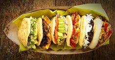 Venezuela to Whyte Ave: Ávila Arepa serves up South American street food - Edmonton - Todays Weather and News Comida Latina, Fast Foods, Junk Food, Venezuelan Food, Grilled Turkey, Good Food, Yummy Food, Brunch, Juicy Steak