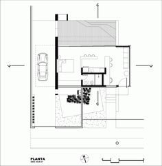This tiny house design by Alex Nogueira is like a micro apartment with open floor plan for one or two occupants at 484 sq. How'd you like to live in it? House Layout Plans, Small House Plans, House Layouts, House Floor Plans, Cabin Design, Tiny House Design, Modular Homes, Architecture Plan, Plan Design