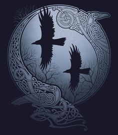 ODIN'S RAVENS by RAIDHO