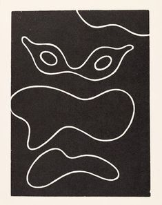 """design-is-fine: """"Hans (Jean) Arp, Dreams and projects, Wood cut. Via KettererKunst """" Jean Arp, Graphic Design Illustration, Illustration Art, Zurich, Sophie Taeuber, Hans Richter, Minimal Tattoo Design, Francis Picabia, Action Painting"""