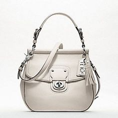 White Coach Willis bag. If only I could keep it perfectly white!