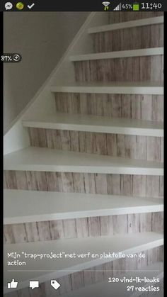 Time for some Action – wat kun je doen met spullen van de Action? Chalet Design, House Design, House Stairs, Basement Stairs, Home Reno, Stairways, My Dream Home, Home Projects, Home Improvement