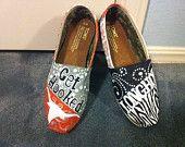 University of Texas Toms.  Longhorn Toms Shoes
