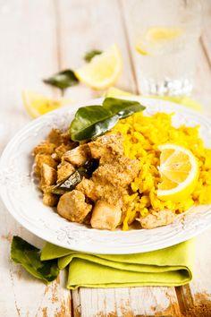 Rezept: Brasilianisches Hühnchen mit Kokosmilch und Mango