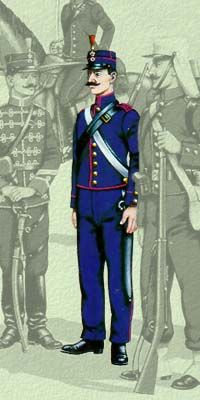 Οι στολές του Ελληνικού Στρατού κατά περιόδους   Army gr Hellenic Army, Army Uniform, Russian Fashion, Empire, Punk, Military, Ottoman, Fictional Characters, French