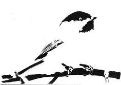 Minimalist chickadee