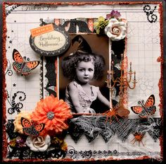 Reneabouquets's Gallery: Bewitching **Scraps Of Darkness** October Kit~Gothic