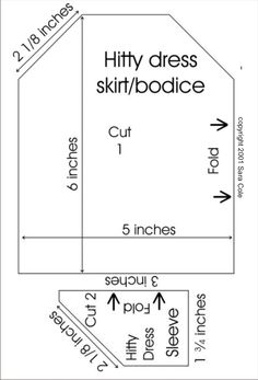 Hitty Simple Dress Pattern by Sara Cole - useful for dresses, chemises, and nightgowns Toddler Dress Patterns, Doll Dress Patterns, Clothing Patterns, Sewing Patterns, Chemise Dress, Dress Lace, Peg Wooden Doll, Victorian Dolls, Antique Dolls
