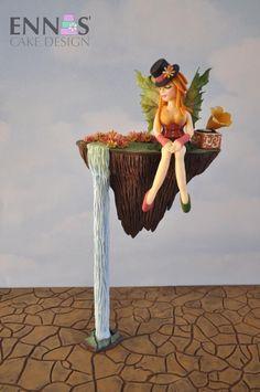Fairy Autumn Blossom  - Cake by Irina - Ennas' Cake Design
