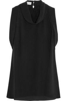 Stella McCartney Solange silk crepe de chine top | THE OUTNET