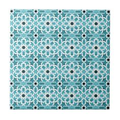 Moroccan Tile Bathroom, Blue Moroccan Tile, Moroccan Design, Moroccan Decor, Turkish Pattern, Moroccan Pattern, Blue Tiles, White Decor, Tile Patterns