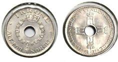 1 krone 1927 kv0