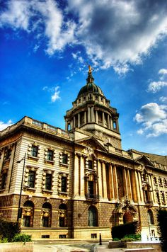 Old Bailey, whose court was first mentioned in 1585 -  Part of the present building stands on the site of the medieval Newgate Gaol on Old Bailey, a road which follows the line of the City of London's fortified wall (or bailey).