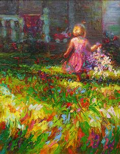 Girls Will Be Girls (Oil On Linen Board) by Talya Johnson with Pin-It-Button on FineArtAmerica