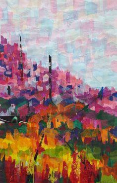 Reading Contemporary Art fair 2013-Sheila Riley-Italian Landscape