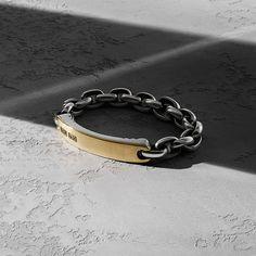 Streamline® bracelet in sterling silver and 18k gold.