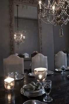 This is amazing | Love the setting, the ambiance and that everything looks gray| Subtle and elegant |