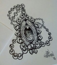Amulet #necklace #tattoo #tattooidea #drawing #amulet #jewel
