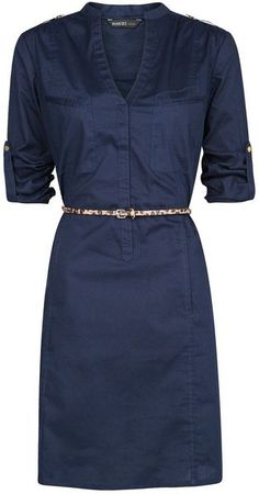 Shirt Cotton Dress - Lyst