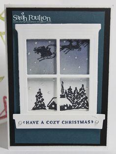 Stampin' Sarah!: A Cozy Christmas Sneak Peek from Stampin' Up! UK Demonstrator Sarah Poulton