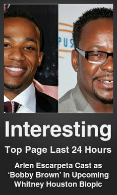 Top Interesting link on telezkope.com. With a score of 438. --- Arlen Escarpeta Cast as 'Bobby Brown' in Upcoming Whitney Houston Biopic. --- #telezkopeinteresting --- Brought to you by telezkope.com - socially ranked goodness