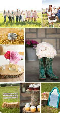 Country Wedding! Love it!