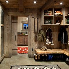 Mudroom/Laundry Room... For my cabin, Lol!