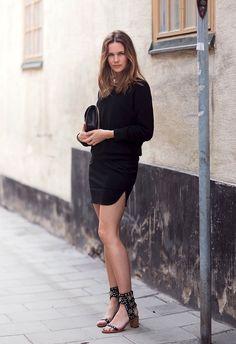 Get Caroline Blomst's Crazy Cool All-Black Look | Le Fashion | Bloglovin'