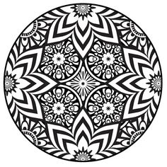 Mandala Coloring Pages PDF | Mandala Coloring Page, Instant PDF Download, Printable Coloring Page ...