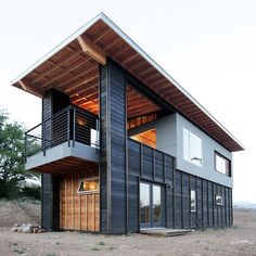 Thinking Outside the Box: Shipping Container Homes #shippingcontainerhomes