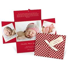 Wrapped Collage -- Personalized Holiday Photo Cards!  www.peartreegreetings.com