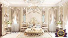 Luxury Royal Arabic Master Bedroom of Luxury Antonovich Design   Katrina Antonovich