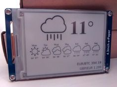 [David] created a great looking e-ink WiFi display project that works a little like a network-connected picture frame with a few improvements over othersimilar projects. With the help of an ESP8266 ...