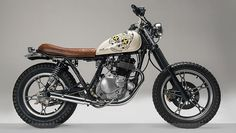 GN 250 Suzuki custom. I want!!! Geraamtekop!!