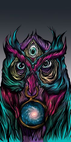 COSMIC OWL on Behance