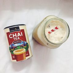 So, chai is tea and tea is chai, right? But both in a different language, right? That what confuses me too. Anyways, this chai tea powder