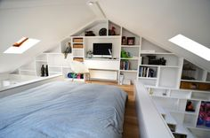 Loft Bed And Workspace