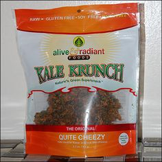Kale Krunch Quite Cheezy Paleo Fast Vending Best Seller