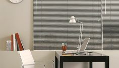 "Our clean and simple 1"" Metal Blinds are available in 5 finishes. 