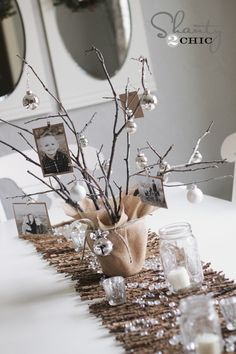 photo tree diy